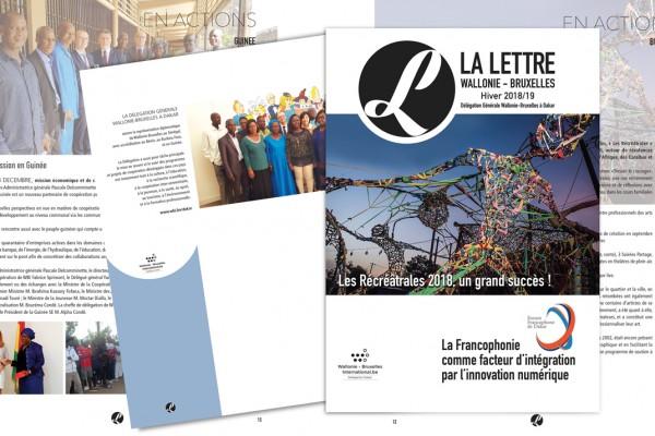 La lettre de Wallonie-Bruxelles